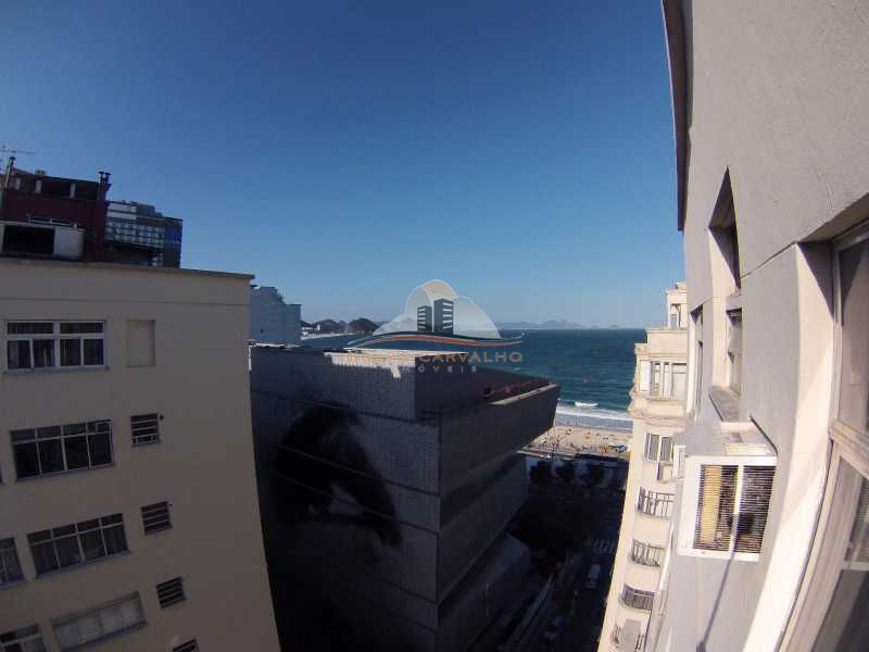 Conjugado vista lateral mar de Copacabana - TEMP0003C - 1