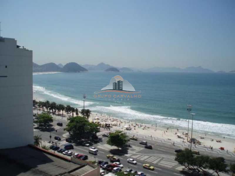 Conjugado vista lateral mar de Copacabana - TEMP0003C - 8