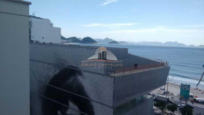 Conjugado vista lateral mar de Copacabana - TEMP0003C - 12